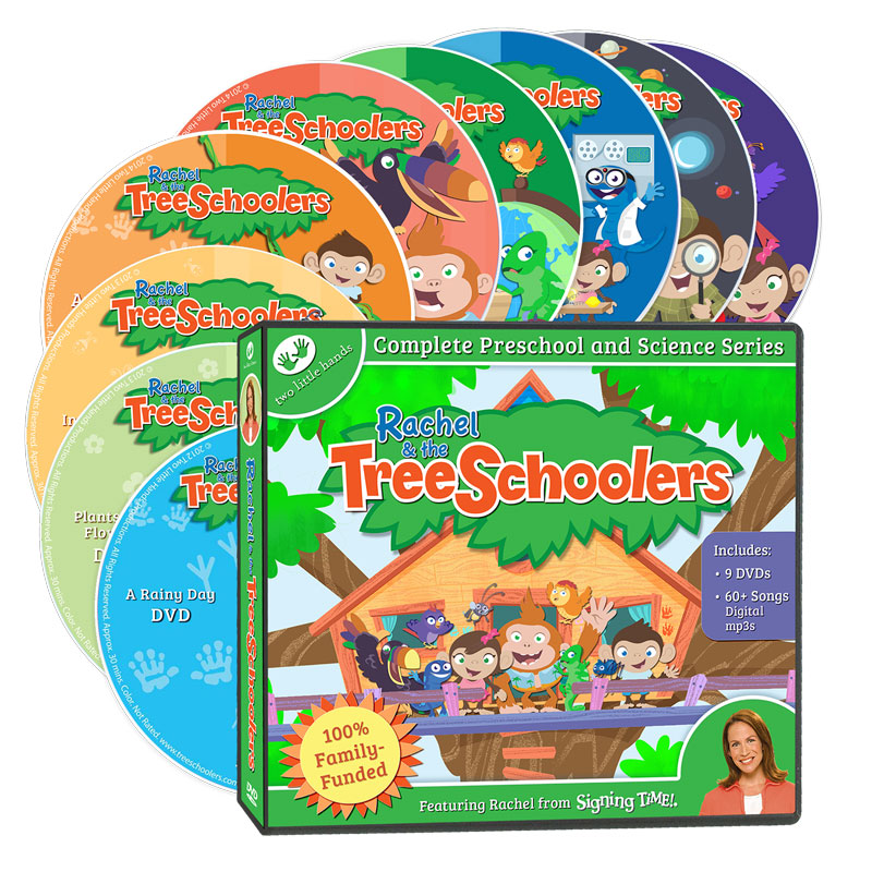 TreeSchoolers Science Complete DVD Collection